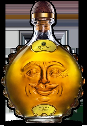 .Rey Sol Anejo Tequila. Even if you don't drink this packaging will make you smile : ) PD