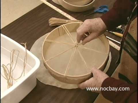 How to make a Native American hand drum video