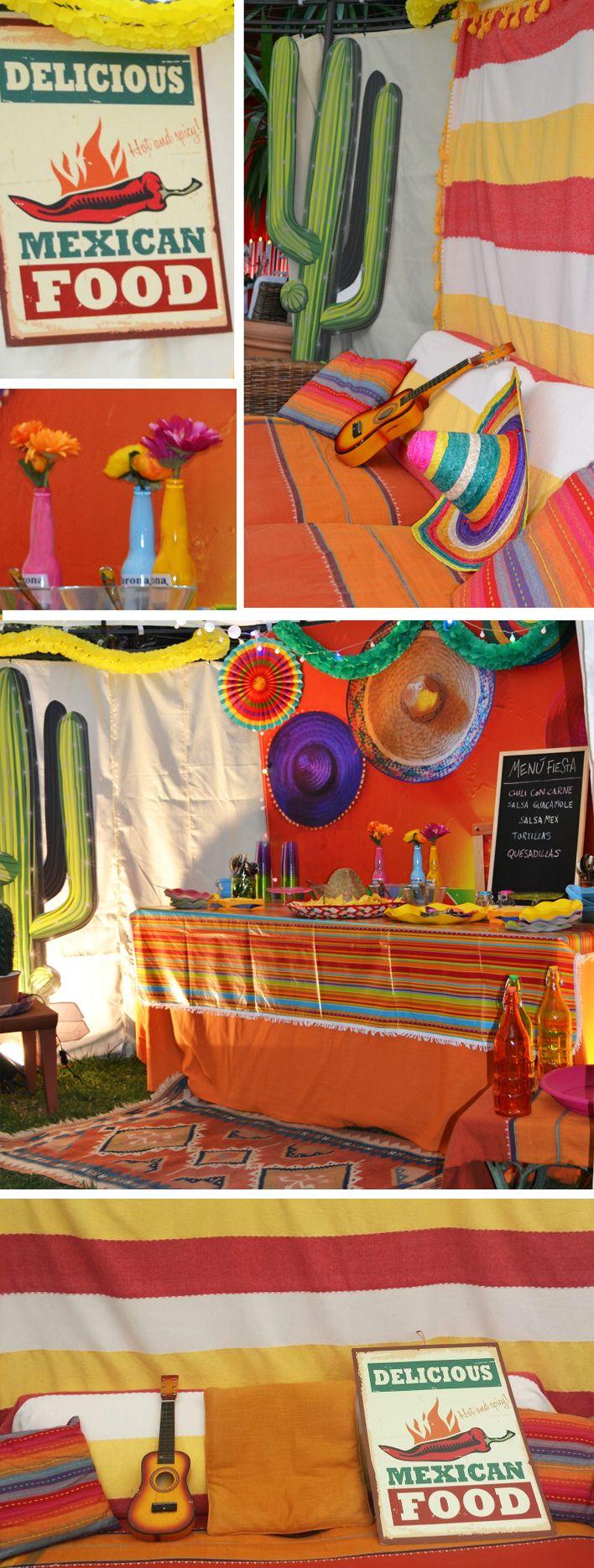 Que viva Mexico! la parte messicana del Party era la più' colorata e allegra, cibo piccante e tanta Fiesta!!
