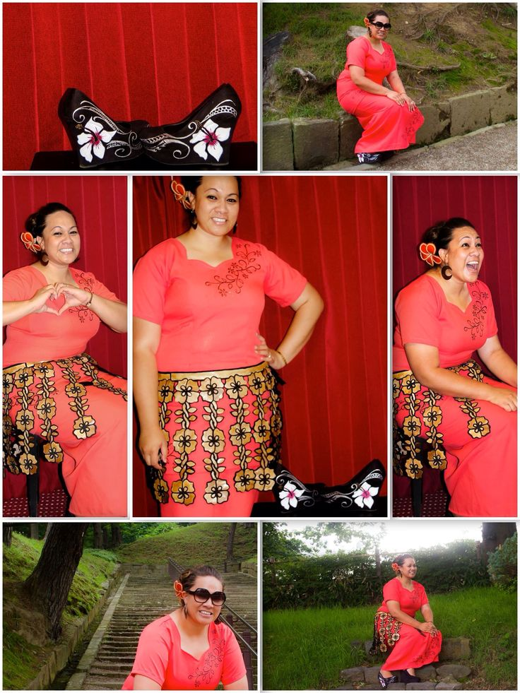 Just a simple Tongan wear for church.love to match my sei with any outfit I put on.  Outfit designed and sewn by Havili Matelau and my shoes was done by Shane Andrea.. Just perfect for me.