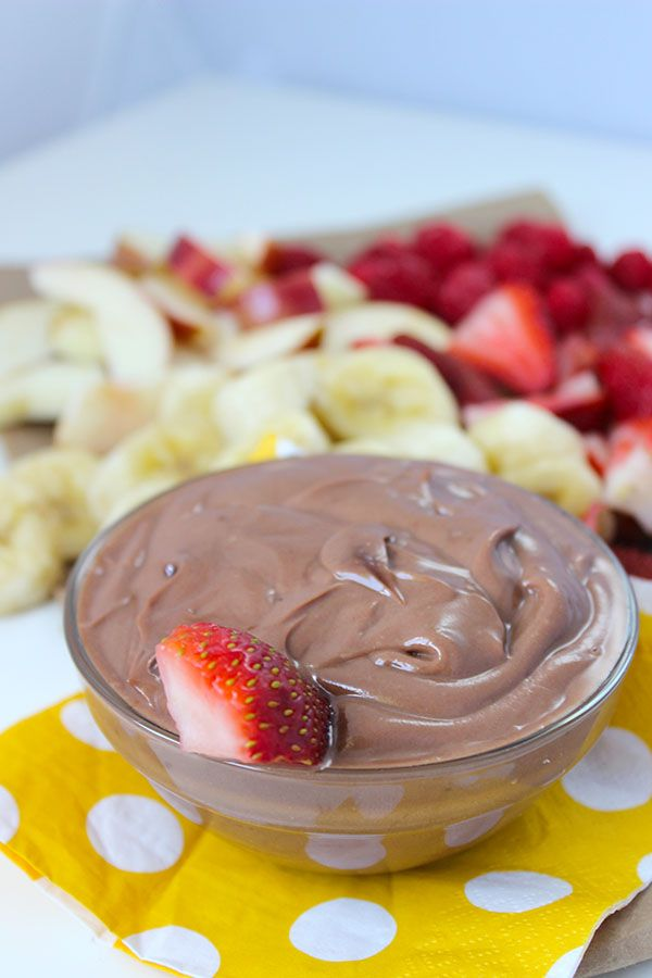 Nutella Fruit Dip - super simple and delicious! Best Dip EVER!! #nutella #lovenutella #foodblogger