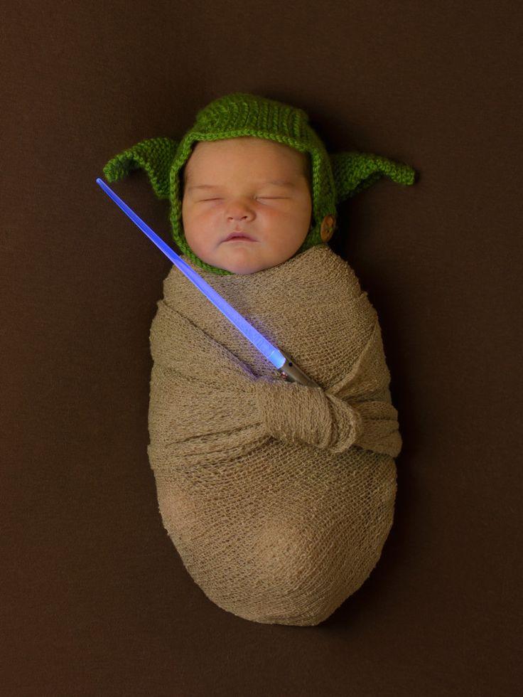 Star Wars Birth Announcement – Newborn Photography