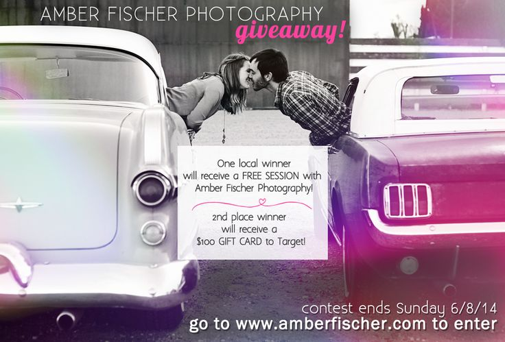 WIN A $100 TARGET GIFT CARD or A FREE PHOTO SHOOT (in the Madison, WI area)! Contest ends Sunday, June 8th, 2014! #madison #wisconsin #madisonweddings #free #target