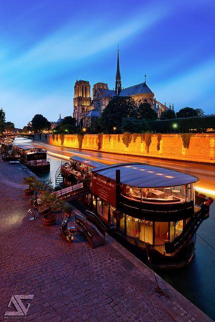 Notre-Dame, Paris, France (HDR)  My Facebook / My Google+