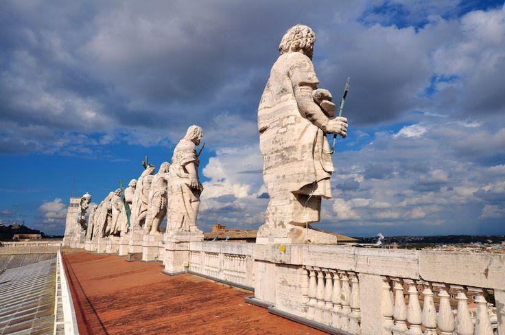 Vatikan Vatikanstadt Vatikanstaat Kunst Kultur Geschichte Historie Italien Rom Europe  Petersdom