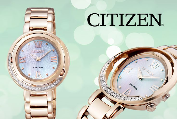 Shop ladies Citizen watches online with Jons Family Jewellers - jonsfamilyjewellers.com.au/citizen