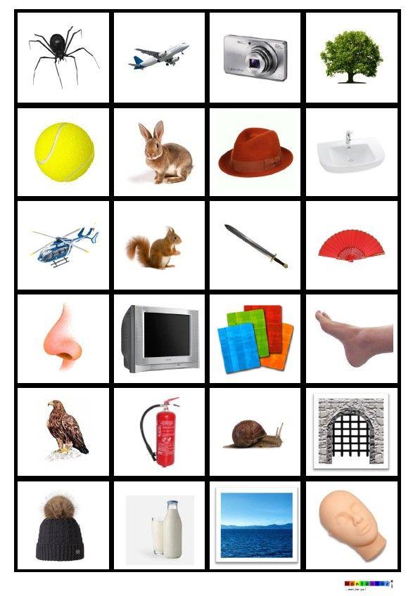 Etiquettes pour jeux de phonologie