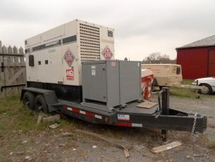 Commerical Whisperwatt Mobile Generator - Sold for $13,000 on MaxSold