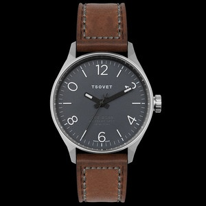 TSOVET [USA] Aviator SVT-RS40 Officer's Watch Ref RS111712-01 40mm S/S Case BNIB