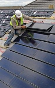 Solar Roof Tiles could give it a twist, even though not many...