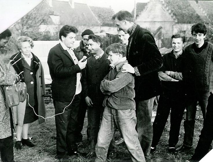 This, week, the L'Arche Jubilee Time Machine takes us to 1964... RMC radio was interviewing the gang at Trosly.