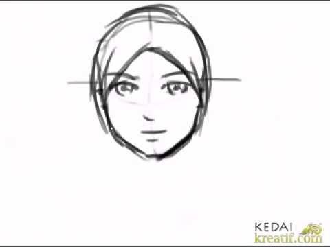 Gambar Ilustrasi Orang Berhijab Cara Melukis Kartun Wanita Berkerudung Youtube Gunakan Ilustrasi Gadis Berhijab Dalam Ilustrasi Orang Gambar Gambar Kartun