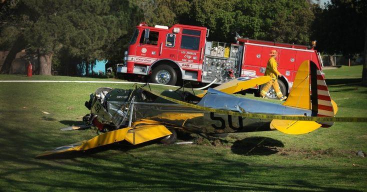 G.H.: Harrison Ford sobrevive a acidente de avião na Cal...