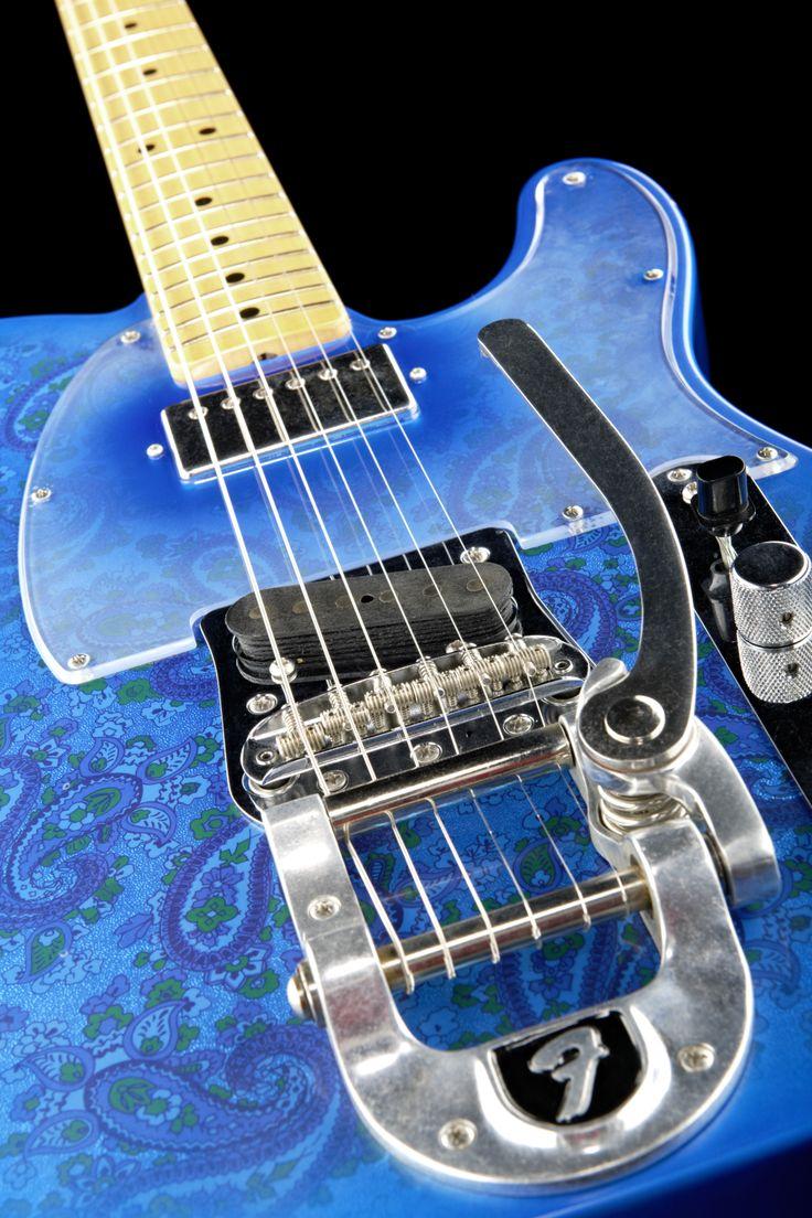 fender bigsby tele blue paisley mbdg fender guitars paisley and blue. Black Bedroom Furniture Sets. Home Design Ideas