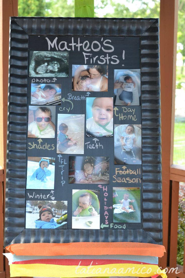 First Birthday Party Decorations #firstbirthday #partydecorations #chalkboard