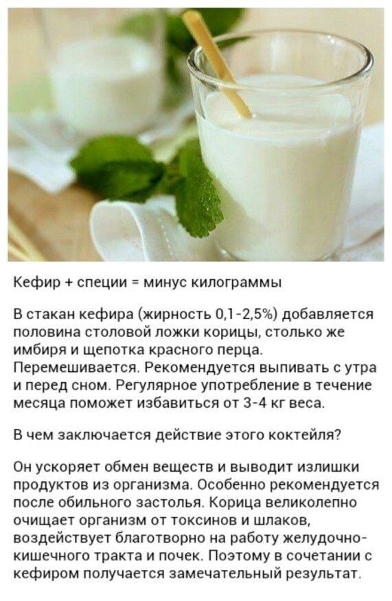 Кефир рецепт диета