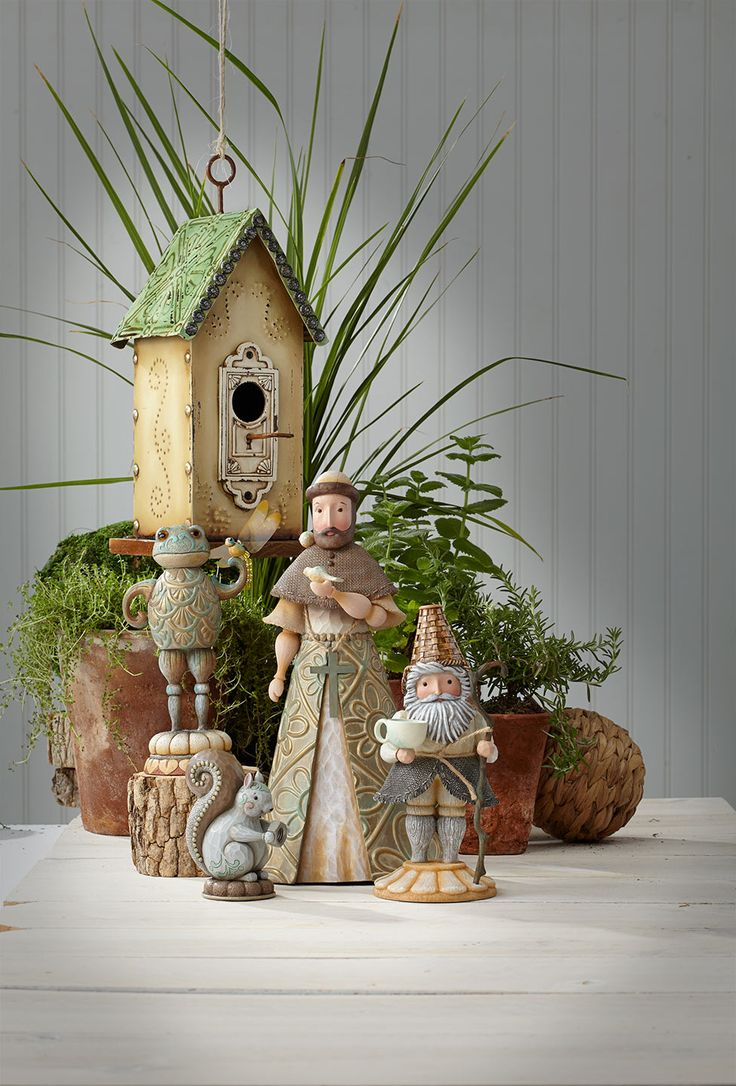 Check out some new garden items from Jim Shore!