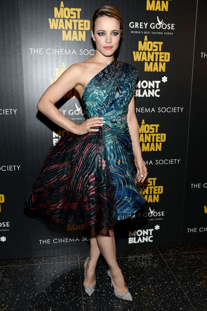 Rachel McAdams in Zuhair Murad Couture at 'A Most Wanted Man' New York Premiere