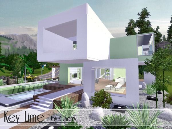 Key Lime Modern by chemy - Sims 3 Downloads CC Caboodle