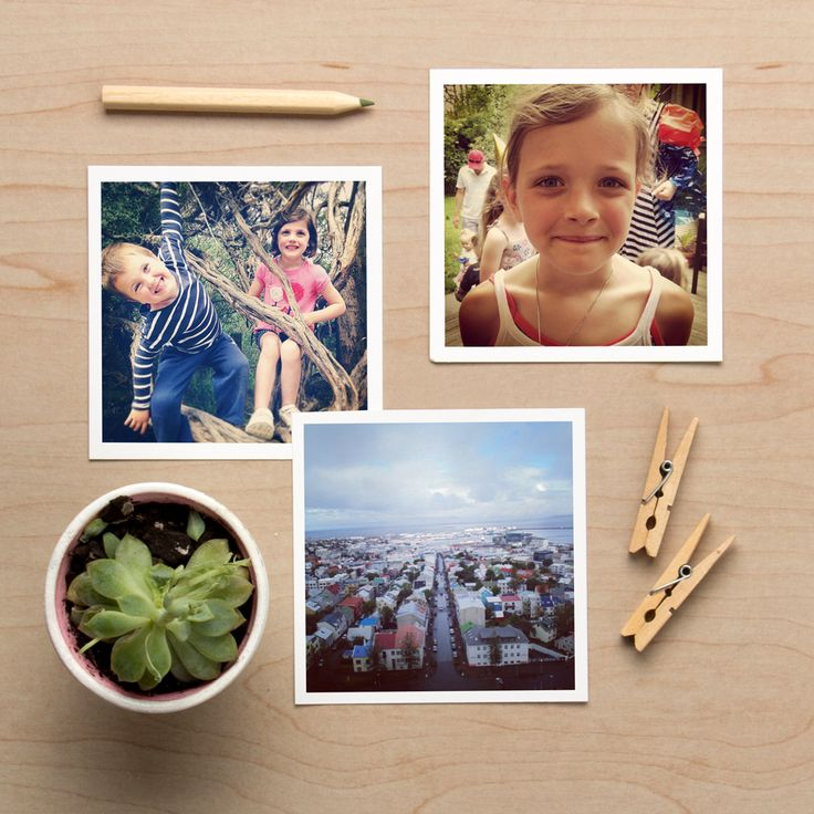 Get those photos out of your phone and bring your favourite memories to life with Square Photo Prints - new from Tinyme.