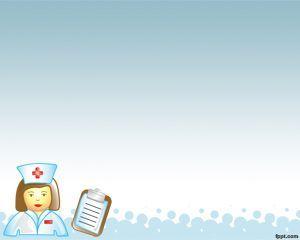 Practicante de Enfermería Plantilla PowerPoint                                                                                                                                                                                 Más