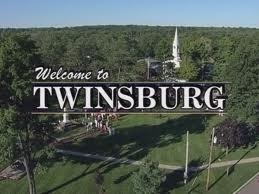 Twinsburg, Ohio...we went here for an annual twin convention :)
