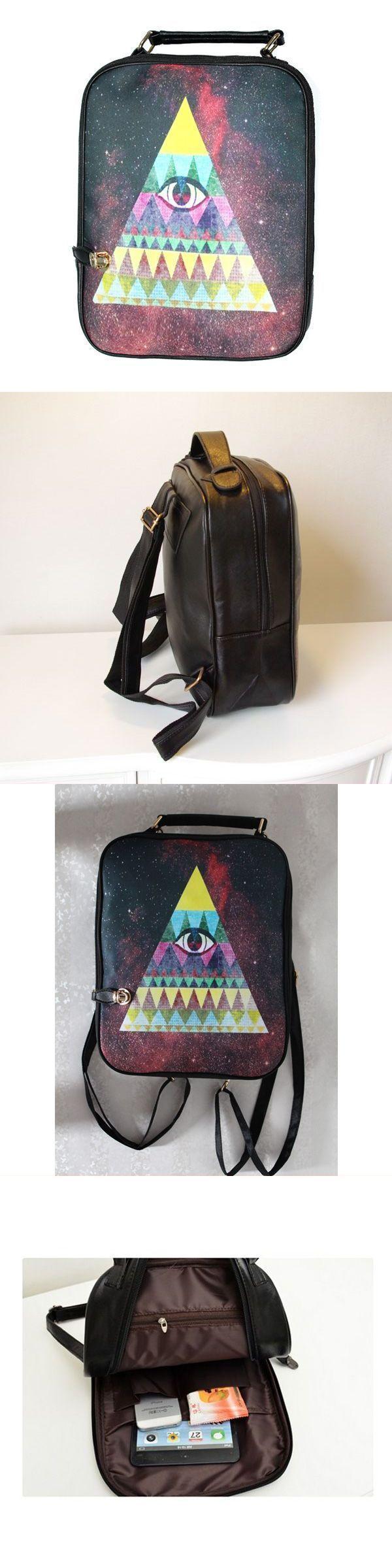 Girls harajuku style canvas eye zipper backpack students schoolbag backpack you can color #backpack #buddies #backpack #ice #chest #gregory #z #backpack #u-pick #backpack