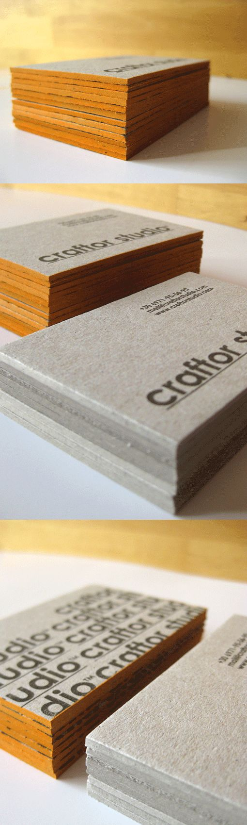 Super Thick Business Card By Craftor Studio