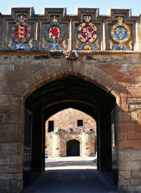 Linlithgow Palace, Scotland - The Fore Entrance by Grangeburn, via Flickr