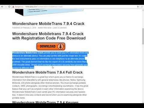 wondershare mobiletrans 7.9.4 تفعيل