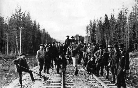 canadian pacific railway last spike -just finish the book last spike by p. burton