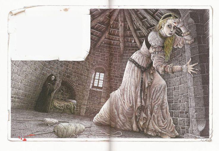 "Roberto Innocenti «Спящая красавица» | ""Картинки и разговоры"""