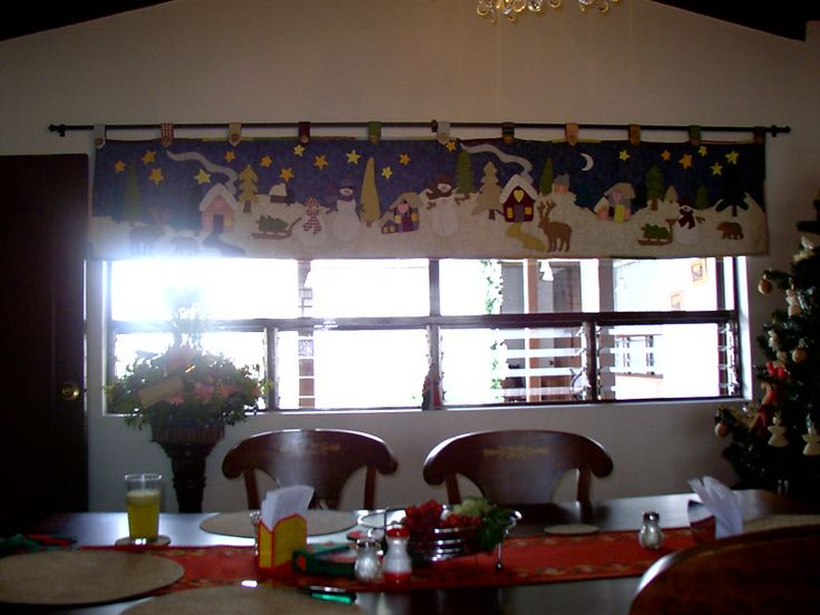 73 best images about cortinas con apliques para cocina - Apliques para cocina ...