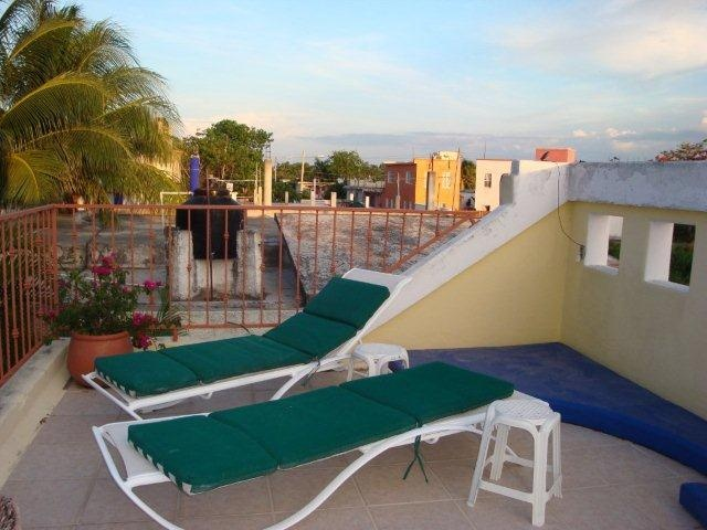 Roof top  patio/deck Casa Patricia another lovely outside space wonderful feature on this special home on Cozumel Island  For Sale