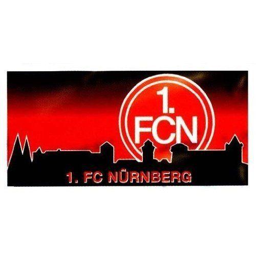 1 FCN | FCN / 1. FC Nürnberg Velourstuch 'Burg'