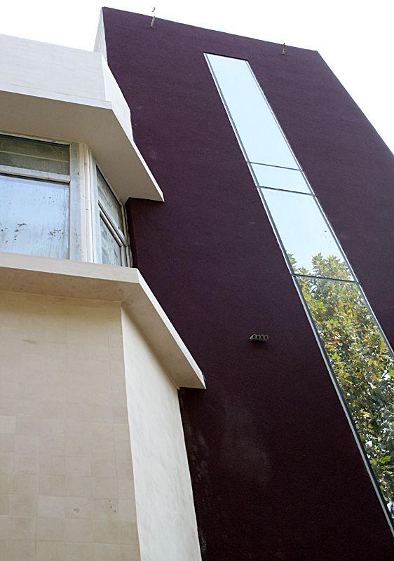 vertical travertin antichizat