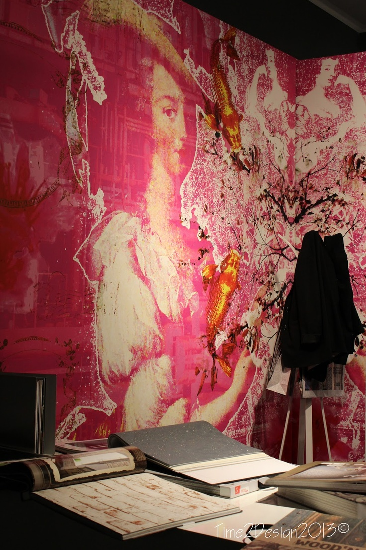 Wallpaper find ~ #IMM13 @imm_cologne during #blogtourcgn