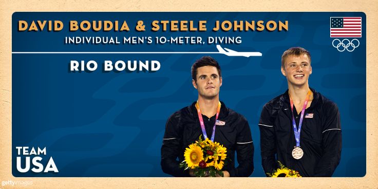 Boudia And Johnson Add Individual 10-Meter To Olympic Schedule As Olympic Diving Team Is Completed