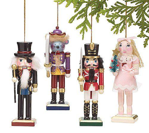 Set of 4 Whimsical Nutcracker Character Christmas Tree Ornaments Burton & Burton http://www.amazon.com/dp/B009HKHSYU/ref=cm_sw_r_pi_dp_sOUNub0WQ58ZF
