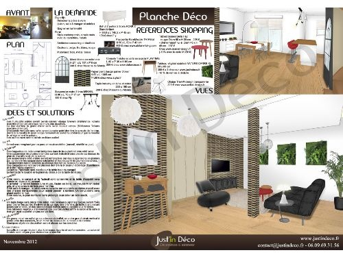planche deco 2eme version salon salle manger et entr e. Black Bedroom Furniture Sets. Home Design Ideas