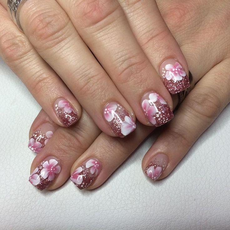 29+ Glitter Acrylic Nail Art Designs, Ideas   Design Trends