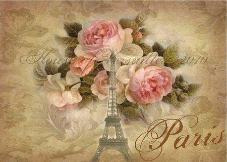 Картинки Парижа для декупажа: фото-галерея