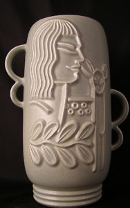Rare, Mid-Century Red Wing Pottery Vase, Charles Murphy