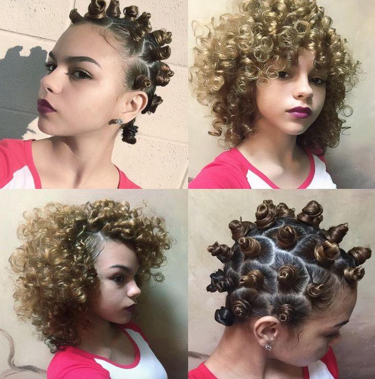 trending bantu knot ideas