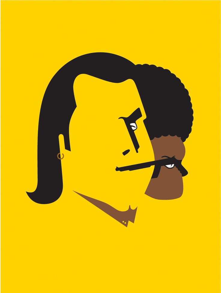 Pulp Fiction by Noma Bar
