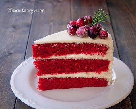 Торт Красный бархат Red Velvet Cake рецепт с пошаговыми фото. Как приготовить американский торт красный бархат, крем для торта красный бархат