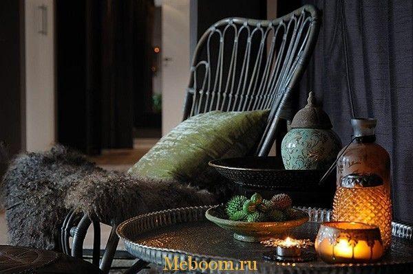 Экстравагантный и винтажный дизайн интерьера квартиры в Стокгольме « Мебель для Вашего дома