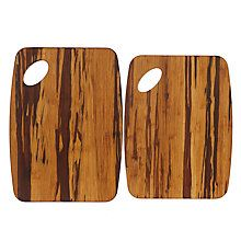 Buy John Lewis Crushed Bamboo Wood Chopping Boards, Set of 2 Online at johnlewis.com