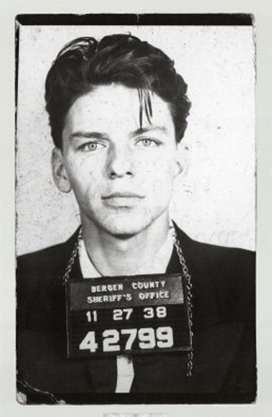 Frank Sinatra probably has the most attractive mugshot if that is possible.