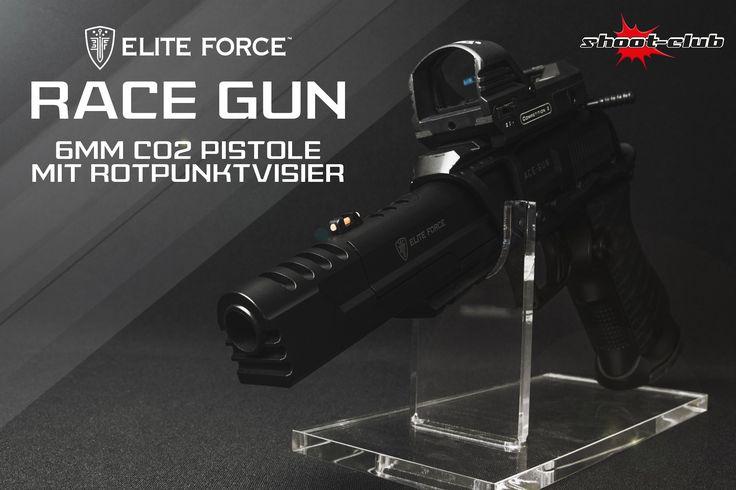 Elite Force Race Gun CO2 Pistole 6mm + Rotpunktvisier   #shootclub #airsoft #softair